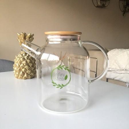 Théière en verre 1,8L