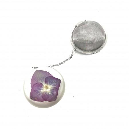 Boule à Thés (Ø 6.5 cm) avec Pendentif en résine
